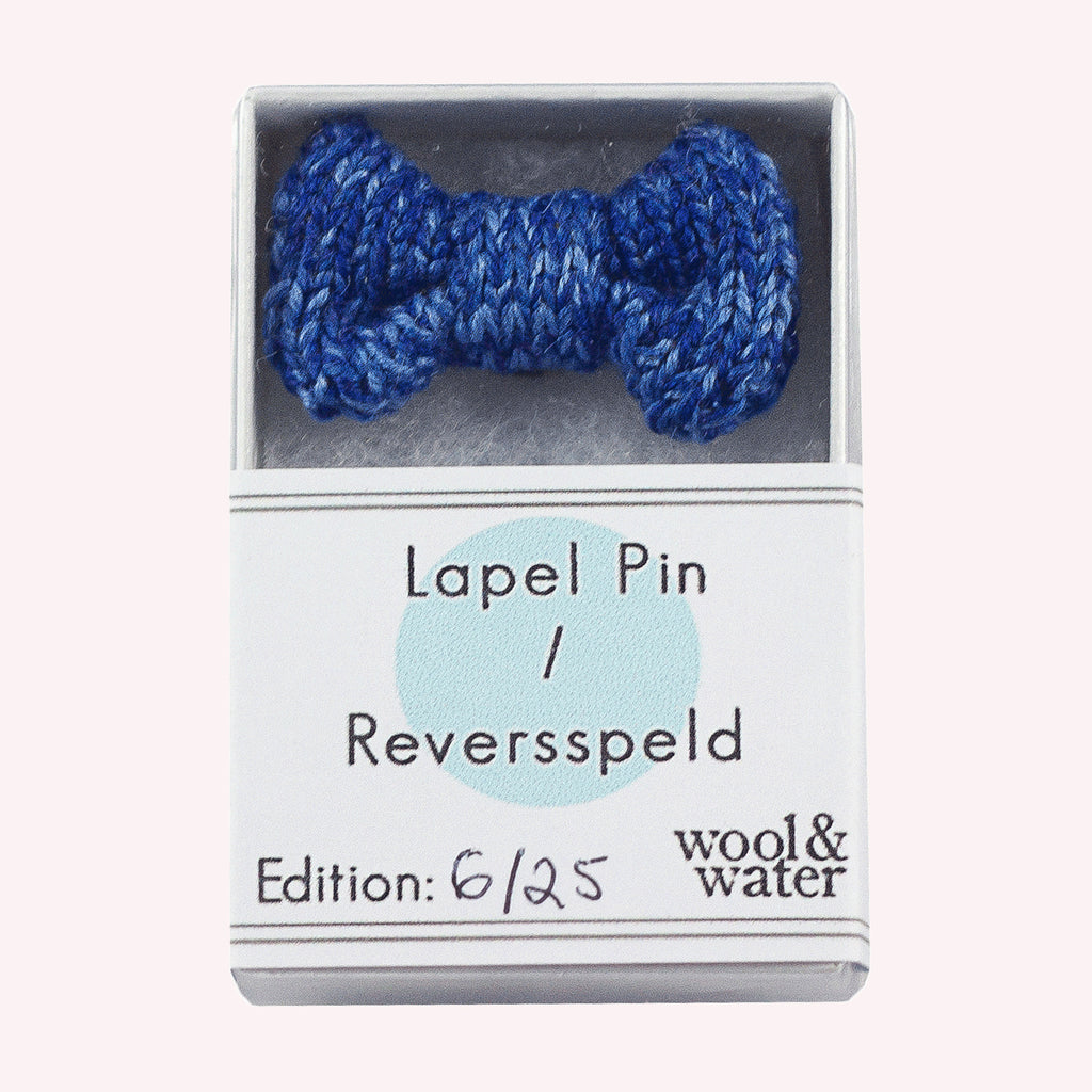 Blue: Lapel Pin