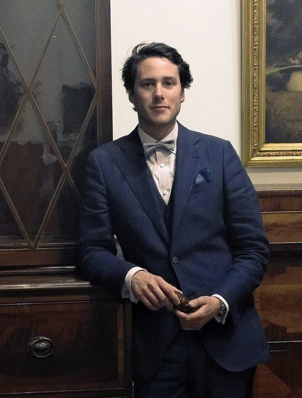 David Walker in Wool & Water Bow Tie
