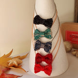 Mini Bow Tie Necklaces