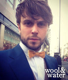 Geoff Breton in Wool & Water Bow Tie