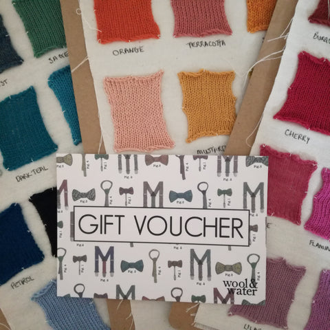 Wool & Water Gift Voucher
