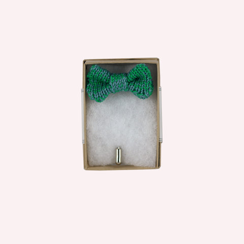 Green Bow Tie Pin