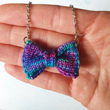 Jewel Bow Tie Necklace
