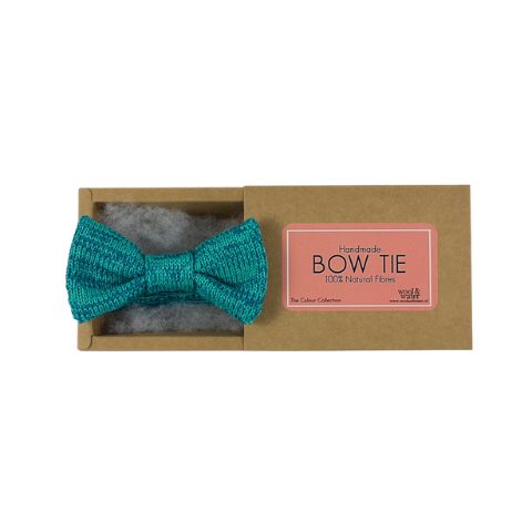 Mint Green Bow Tie