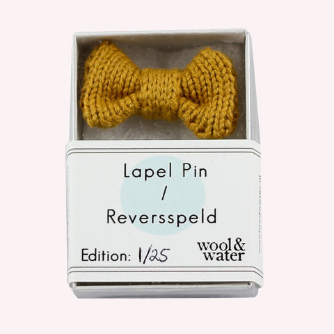 Lapel Pin: Mustard Yellow