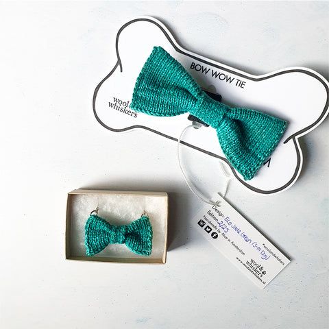 Bow Tie Necklace + Cat or Dog Bow Tie Set