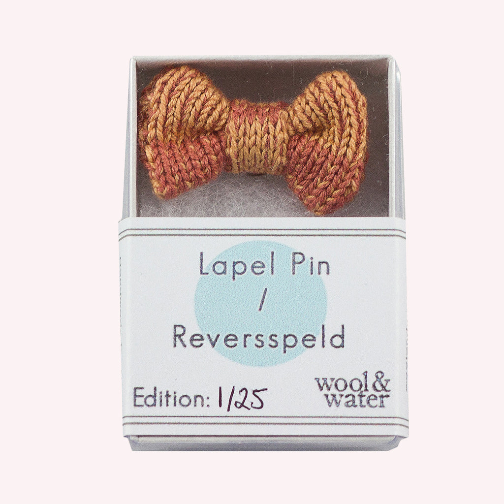 Lapel Pin: Peach