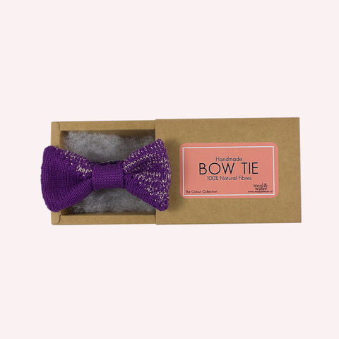 Purple Dip Bow Tie