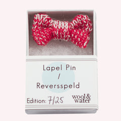 Red / White: Lapel Pin