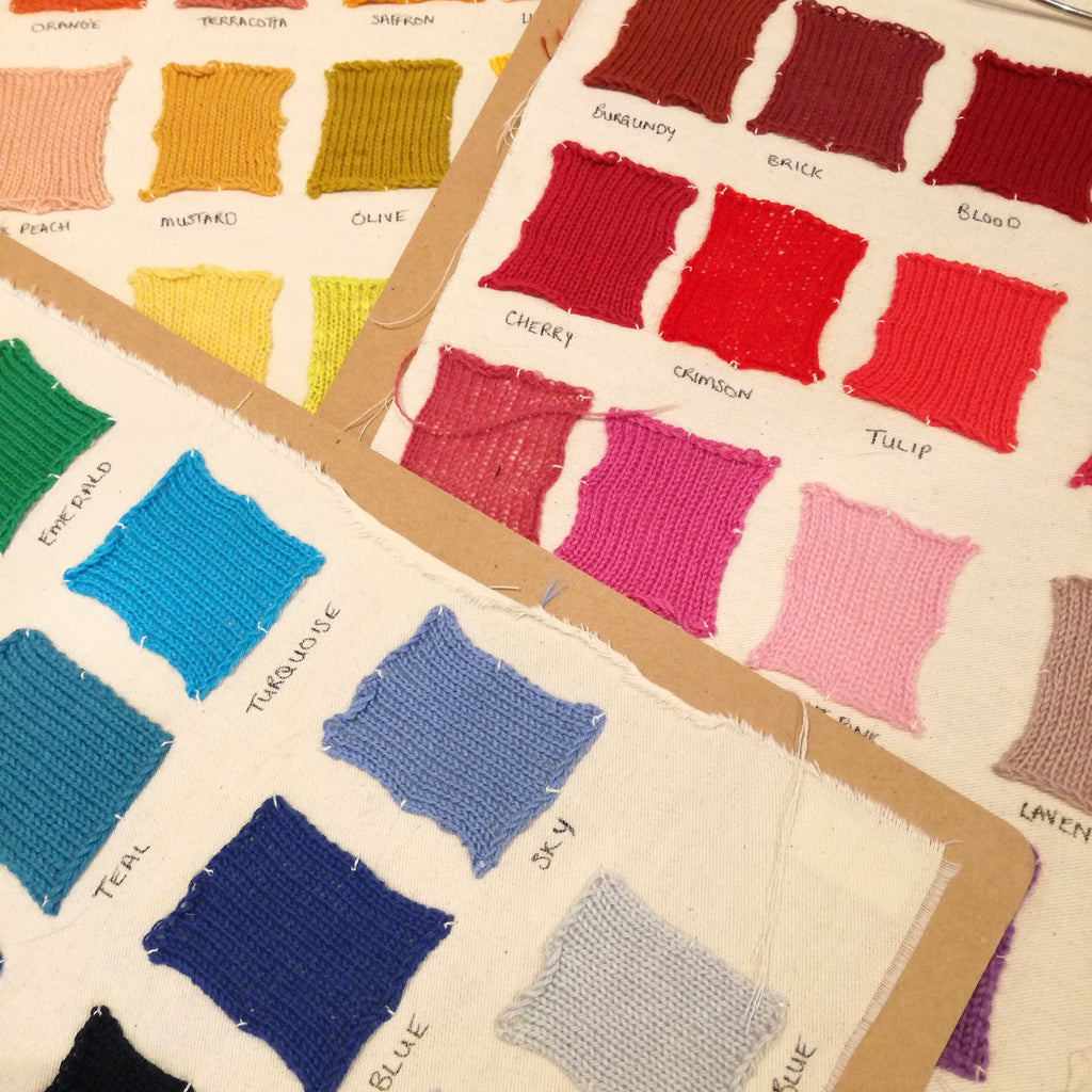 Wool & Water Swatches