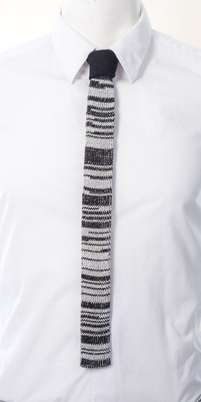 Black and Grey Mix Tie