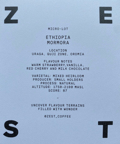 Zest Coffee - Only Available In Australia
