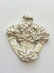 Fine Silver Tree Pendant from Jewellery by Linda