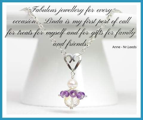 Anne Testimonial - Jewellery by Linda