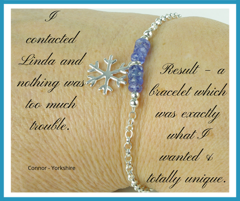 Connor Testimonial - Jewellery by Linda