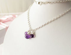 Purple Perfection Exquisite Amethyst Necklace