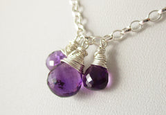Purple Perfection Necklace of Exquisite Amethyst