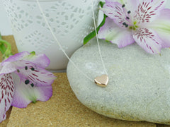 Rose Heart Jewellery by Linda Sterling Silver Necklace