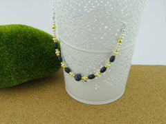 Sapphire Desire - Sapphire Sterling Silver Luxury Necklace