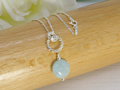 Jewellery by Linda Simply Aqua Necklace - Aquamarine & Sterling Silver