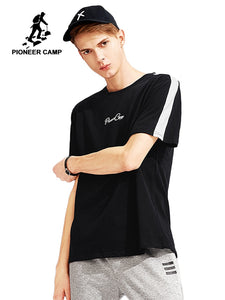 5dca264f3b3 Pioneer Camp new design hit color summer T shirt men brand high quality  100% cotton T-shirt male casual Tshirt for men ADT801014
