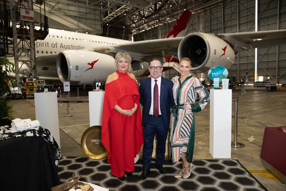 Qantas First-Class - Spa & Amenities Product Partner - LaGaia Unedited