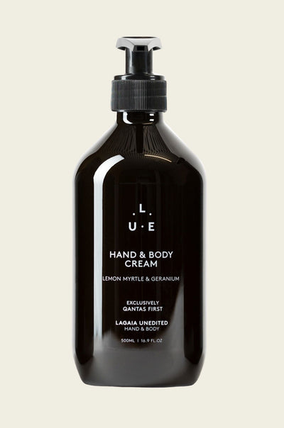Qantas Hand & Body Cream • 500mL - LaGaia Unedited