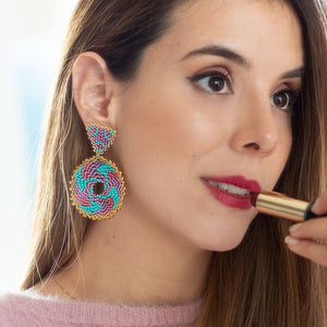 Daca earrings (click for more colors)