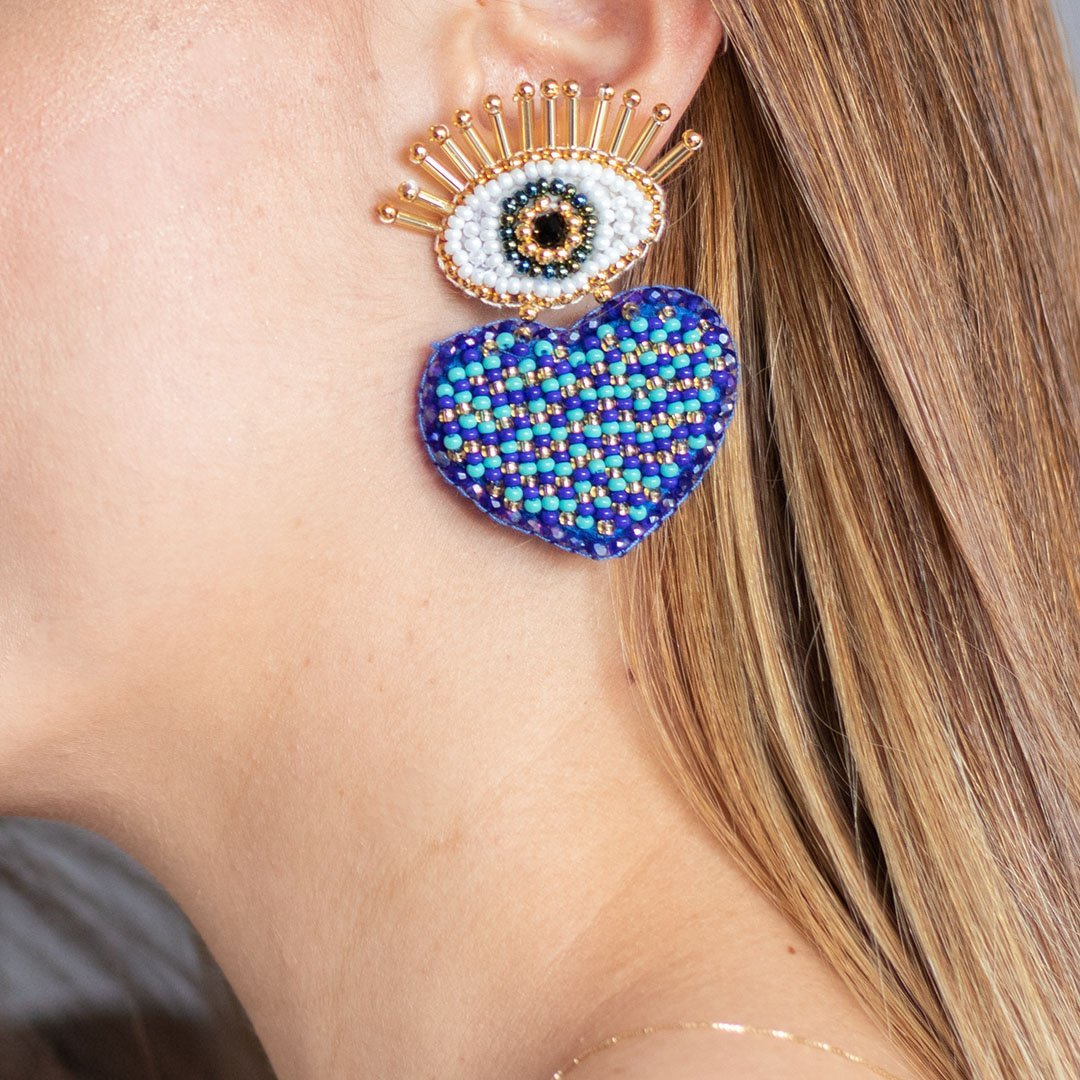 Corazon turco earrings