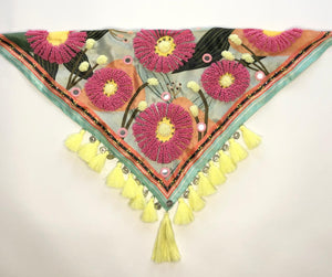 Zinnia scarf and mouth/nose cover