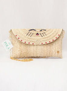 2-in-1 Cats cross body bag and envelope bag