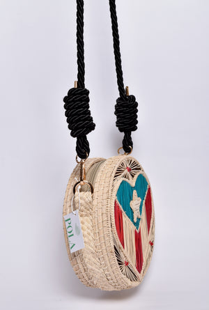 Island cross body bag