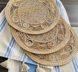 Placemats Caracol natural