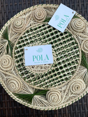 Placemats Caracol Oliva