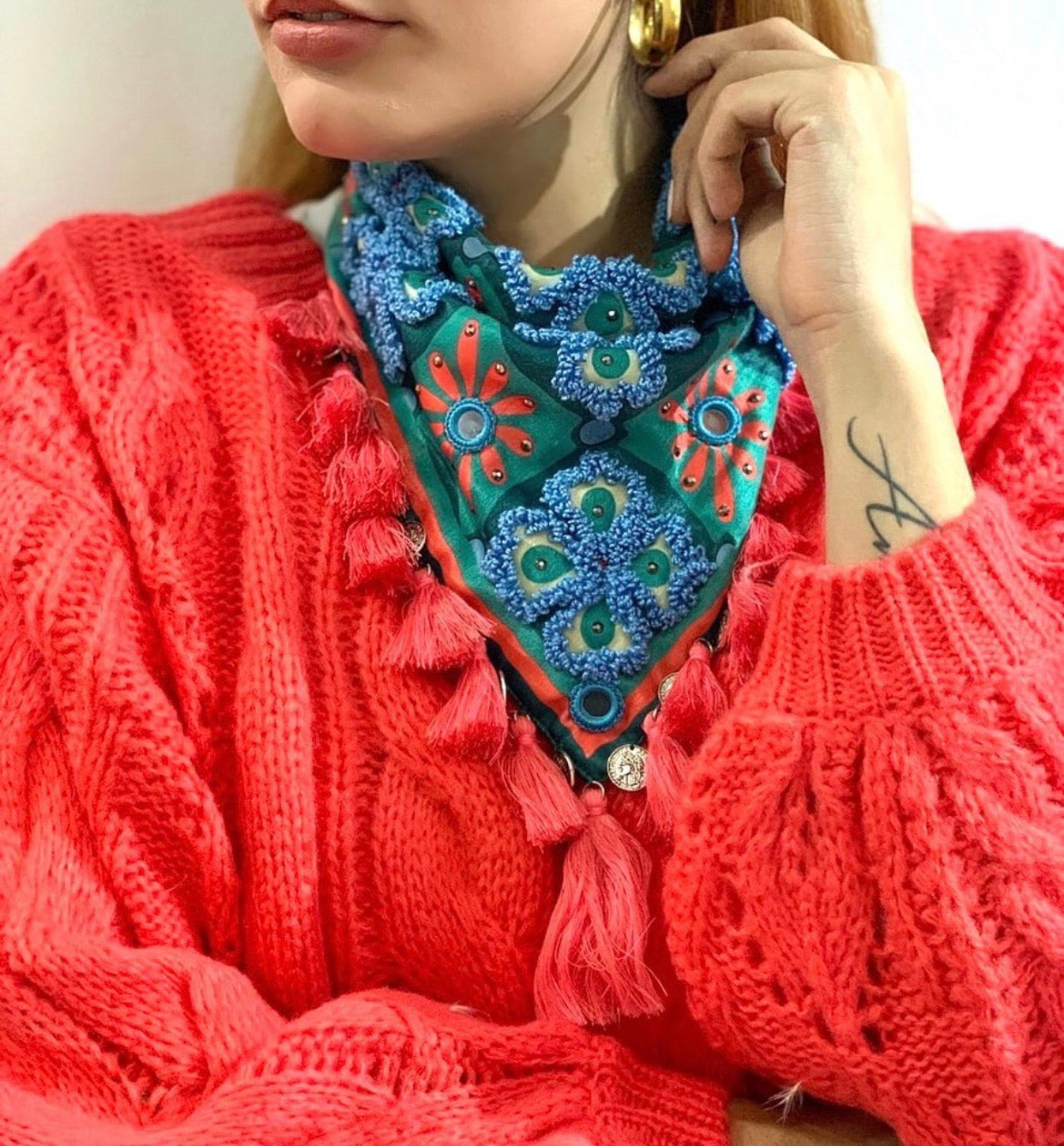 Gise scarf and mouth/nose cover