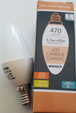 LED Candle 5.5W Opal SES/E14 - Beachcomber Lighting