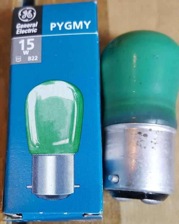 Green Pygmy Bulb BC 15W - Beachcomber Lighting