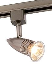 TRACK FITTING GU10 SILVER OR WHITE - Beachcomber Lighting