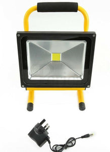 20W Rechargeable Floodlight LED Flood Light. - Beachcomber Lighting