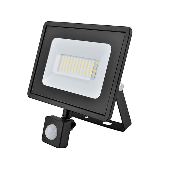 PIR FLOODLIGHTS 30W SMD LED  - IP65 - 4000K - Sensor - Beachcomber Lighting