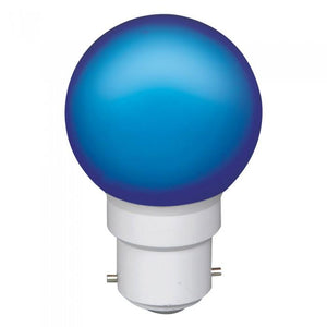 LED Golfball BC / ES Cap 0.5W Coloured - Beachcomber Lighting