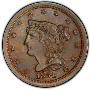 Braided Hair Half Cent