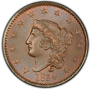 Coronet Matron Head Large Cent