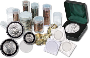 Coin Holders, Flips and Protectors