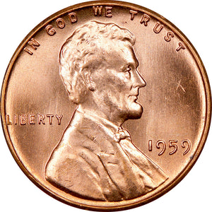 Lincoln Memorial Cents 1959-2008