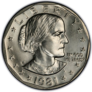 Susan B Anthony Dollars