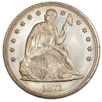 Seated Liberty Dollars