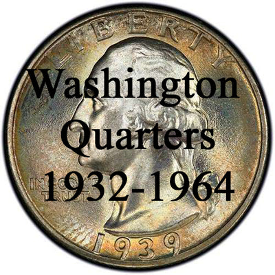 Washington Quarters 1932-1964