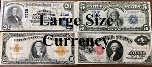 Large Size Currency