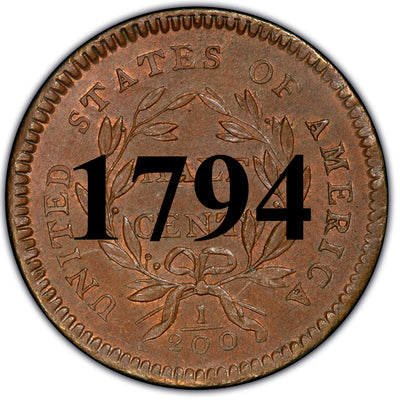 1794 Liberty Cap Half Cent